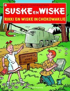 Suske en Wiske. » 154 – Rikki & Wiske in Chokowakije