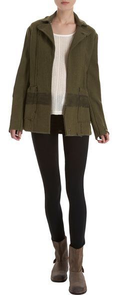 Greg Lauren Army Blanket Jacket