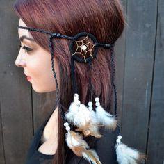 boho leather hippie headbands - Google Search