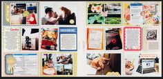 I love Melissa Stinson's Project Life pages!