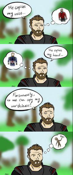 Thor Avengers Infinity War Gaudiands Groot