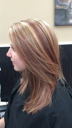 Chunky blonde and dark Highlights and lowlights (Part 2 of 2) Hair by ...