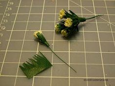 minttumeiramin miniatures: Samettiruusu 'French Vanilla' (Finnish tutorial with photos - use google chrome to translate)