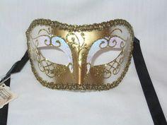 Venetian Masquerade Masks, Venice, Eye, Stars, Gold, Accessories, Venetian Masks, Venice Italy, Sterne