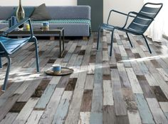 Sol pvc bleu fisherman ocean aerotex l 4 m diy pinterest ocean and merlin - Lino pvc imitation parquet ...