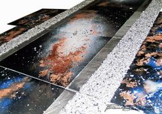 """""""LA PARTICELLA ALL"""" Autore: Luciana Sarnataro  #sefiart #startup #arte #painting #pittura #universe Painting, Painting Art, Paintings, Painted Canvas, Drawings"""