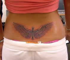 Lower belly tattoos after pregnancy | Unique Lower Back Tattoo Designs For Women : Cheap Tattoo Ink Kits