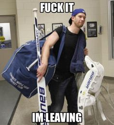 """""""Reimer on period play. James Reimer, Hot Hockey Players, Toronto Maple Leafs, World Of Sports, My Boys, Nhl, Guys, Period, Wings"""