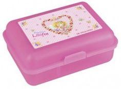 Een hele leuke lunchbox met prinses Lillifee erop.