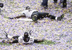 How every Ravens fan is feeling right now: Confetti Angels! http://twitpic.com/c0reyd