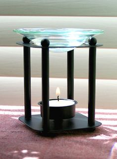 Aromatherapy Diffuser: Glass Candle Diffusers - Aroma Lamps