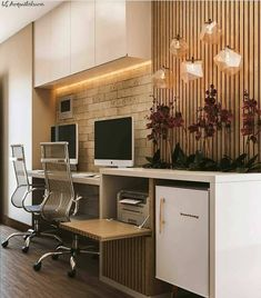 Why the Home Office Furniture You Use Matters Small Office Design, Home Office Design, Home Office Decor, Home Decor Bedroom, House Design, Modern Home Offices, Small Home Offices, Used Office Furniture, Desk In Living Room