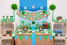 Minecraft Party Printables by LeeLaaLoo