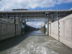 Arosa Flusskreuzfahrt - Schleuse