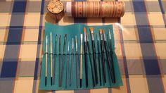 DIY brushes holder