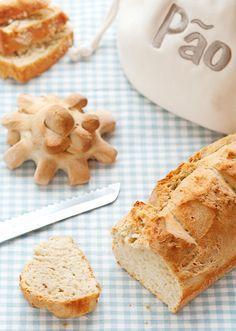 pão espanhol - Sabores de Canela