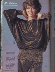 Burda moden 1985 fayes blouses pinterest - 80er damenmode ...