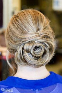 Rose bud hair-very romantic vibe - Melissa Mierzwa