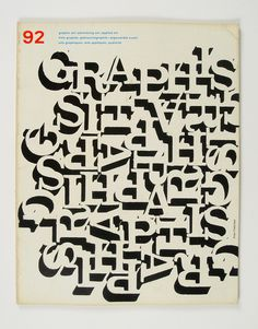 Cover of Graphis by Alan Fletcher, 1960 by Herb Lubalin Study Center, via Flickr