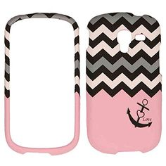 Matte Texture Cell Phone Cover Protector Faceplate Hard Case For Samsung Galaxy Exhibit 2013 T599 Anchor Chevron http://www.smartphonebug.com/accessories/best-19-samsung-galaxy-exhibit-t599-cases-and-covers/