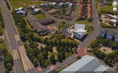 Housing 21. St James, Gateshead. Marigold Court VSH and adjacent bungalow development.