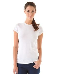 13 Perfect White T-Shirts Our Editors Pretty Much Live In. I'm looking into #6 for sure! I love Classic T's!