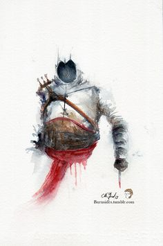 Altaïr IbnLa'Ahad Assassins Creed Print of my by BurnsidesManor, $8.00