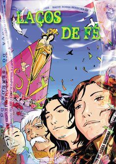 Laços de Fé, Museu do Círio de Belém. Coletânea de quadrinhos, com Volney Nazareno, André Ciderfao, Wal Souza, e Fernando Carvalho.
