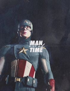Captain America. That's why I love him so much he's vintage:)
