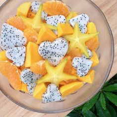 Ataulfo Mangos, Orange Sections, Star Fruit, & Dragon Fruit | Recipes
