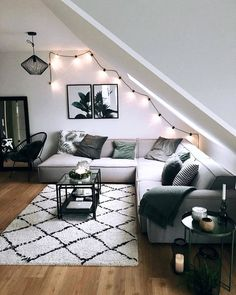 Modern but Cozy Living Room. 21 Unique Modern but Cozy Living Room. What I Wish Everyone Knew About Cosy Modern Living Room Cute Living Room, Cozy Living Rooms, Living Room Sofa, Interior Design Living Room, Home And Living, Living Room Designs, Living Room Decor, Bedroom Decor, Modern Living
