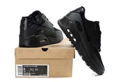 quality design b5e66 2082c Nike Air Max 90 Hyperfuse Premium Mens Black Running Cyber