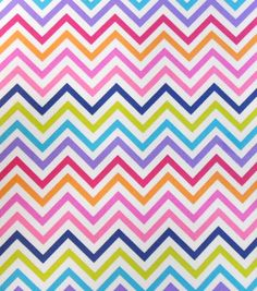 Keepsake Calico™ Cotton Fabric-Multi Chevron