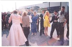 Seven rice tossing and send-off alternatives for a very dramatic exit | Offbeat Bride