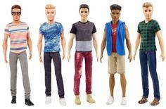 Barbie-Fashionistas-Ken-Doll-Denim-Stripes-Blocked-Green-Check-Blue-Vest