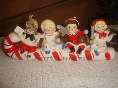 Vintage Japan Merry Christmas Candy Cane by ValeriesVintages, $40.00