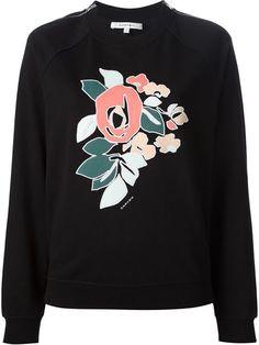Carven Flower Print Sweatshirt - Giulio - Farfetch.com
