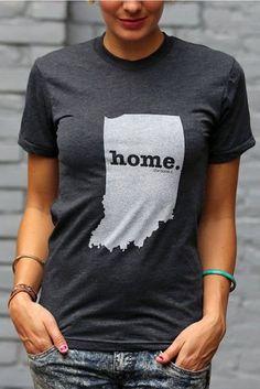 Indiana Home Tee