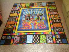 Happiness is a Beatles Quilt!