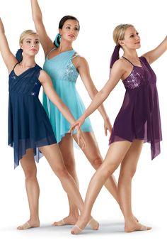 Sequin Mesh Lyrical Dress; Weissman Costumes