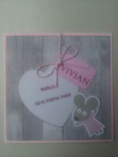 Card for a sweet baby girl