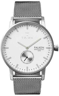 Triwa Falken Mesh Strap Watch, 38mm