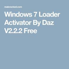 windows 8 loader by daz v2.0.13 download