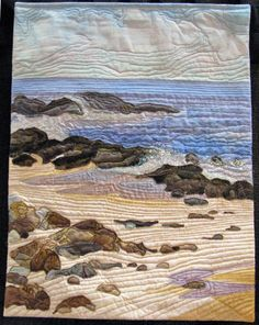 By the Sea =Journal Quilt -2008 AQS