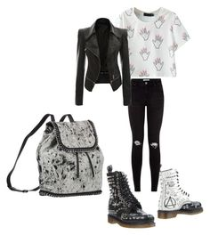 """Untitled #2681"" by bbossboo ❤ liked on Polyvore featuring Dr. Martens and STELLA McCARTNEY"