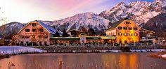 Picture perfect Alpenresort Schwarz in Austria Old World Charm: 20 Austrian Hotels and Spas to Swoon Over Luxury Restaurant, Restaurant Design, Tourist Map, Unique Restaurants, Old World Charm, Freundlich, Hotel Spa, Lodges, Best Hotels