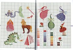 Gallery.ru / Фото #7 - Contes de Fees - Mongia   fairies, gnome, dragon