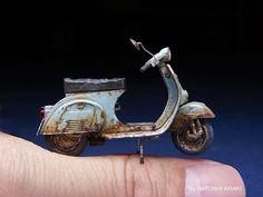 Rusted Vespa by Araki Satoshi