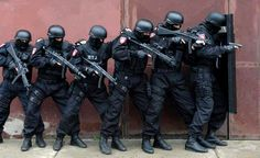 Serbia's special police unit.