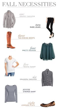 Eight Fall Must-Have's
